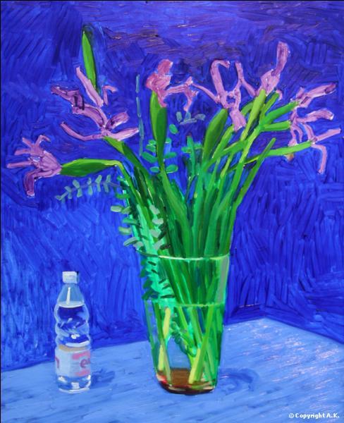 """Qui a peint Iris"""" ?"""