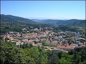 Mon cinquième est la préfecture de l'Ardèche :