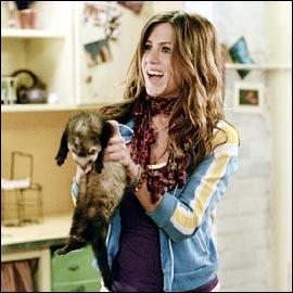 Dans ce film, elle a pour animal familier un furet, en fait un vieux furet, quel est ce film ?