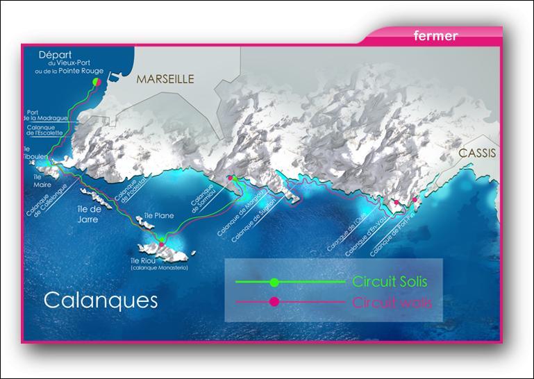 Je suis l'homonyme d'une ville des Bouches du Rhône située à l'est de Marseille et réputée pour ses calanques :