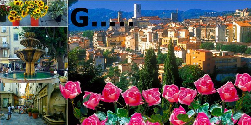 Je suis l'homonyme d' une ville des Alpes Maritimes qui revendique l'honneur d'être capitale du Parfum, comment suis-je ?