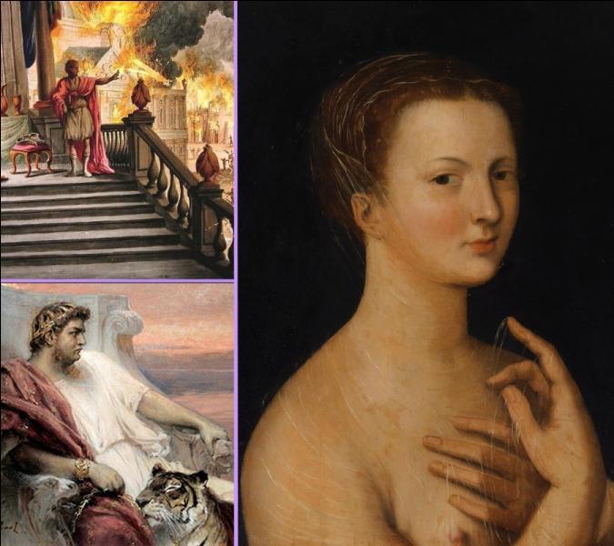 Selon certains écrits de l'époque, de quelle façon est morte Poppée, femme ambitieuse et sans scrupules, seconde femme de l'empereur romain Néron ?