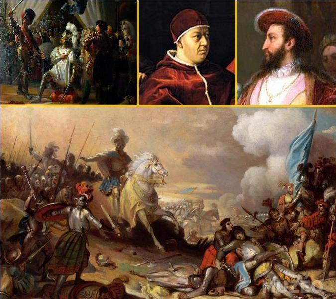 Quel stratège a utilisé le jeune roi François Ier, lors de la préparation de la bataille de Marignan en 1515 ?