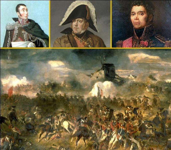 A Waterloo le 18 juin 1815, pendant que la bataille faisait rage, ce général se serait attablé devant un plat de fraises. Un dessert au goût amer, une erreur de manoeuvre fatale à Napoléon. Quel était ce maréchal d'Empire ?