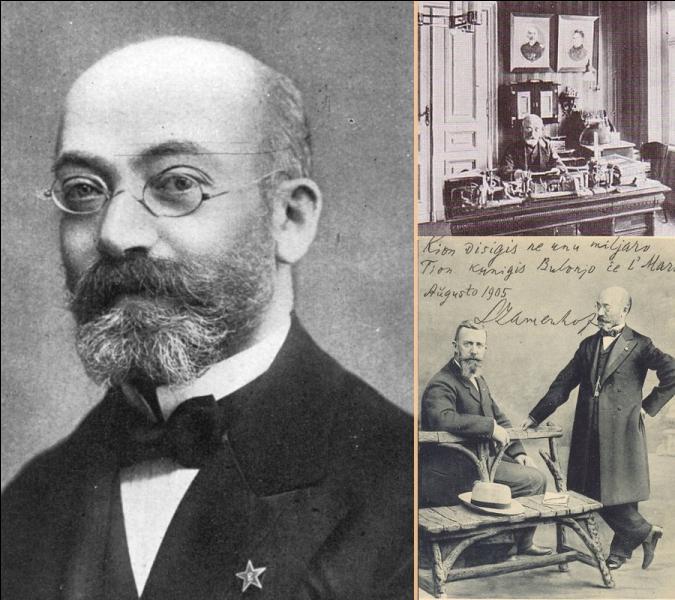 Le docteur Ludwik Lejzer Zamenhof est connu pour avoir élaboré la langue construite Espéranto dans un ouvrage paru en 1887, intitulé «Langue Internationale». En quelle langue fut publié ce premier ouvrage, langue du pays natal de Zamenhof ?