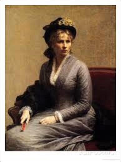 """Cette huile sur toile (H : 1, 18 m x L : 0, 92 m) s'intitulant """"Charlotte Dubourg"""", représente la sœur de la femme de ce peintre réaliste et intimiste, et lithographe (1836-1904). Réalisée en 1882, qui a peint cette oeuvre ?"""