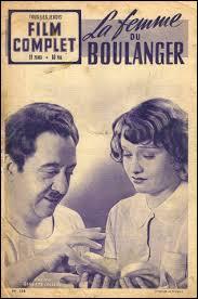 """Quel acteur français retrouve-t-on à l'affiche du film """"La Femme du boulanger"""", réalisé par Marcel Pagnol en 1938 ?"""