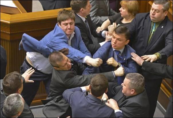 Quand je pense qu'on les accuse de s'endormir dans l'hémicycle, même pas vrai !