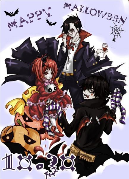 Cette famille de vampires vient du manga :