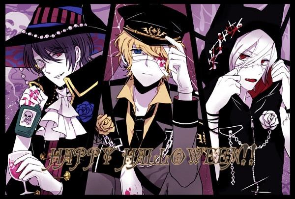 De quel manga viennent ces trois vampires ?