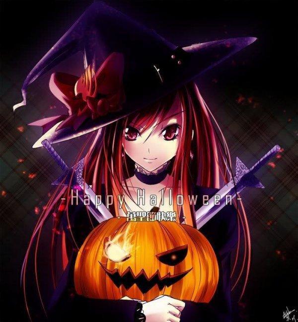 Les mangas fêtent Halloween