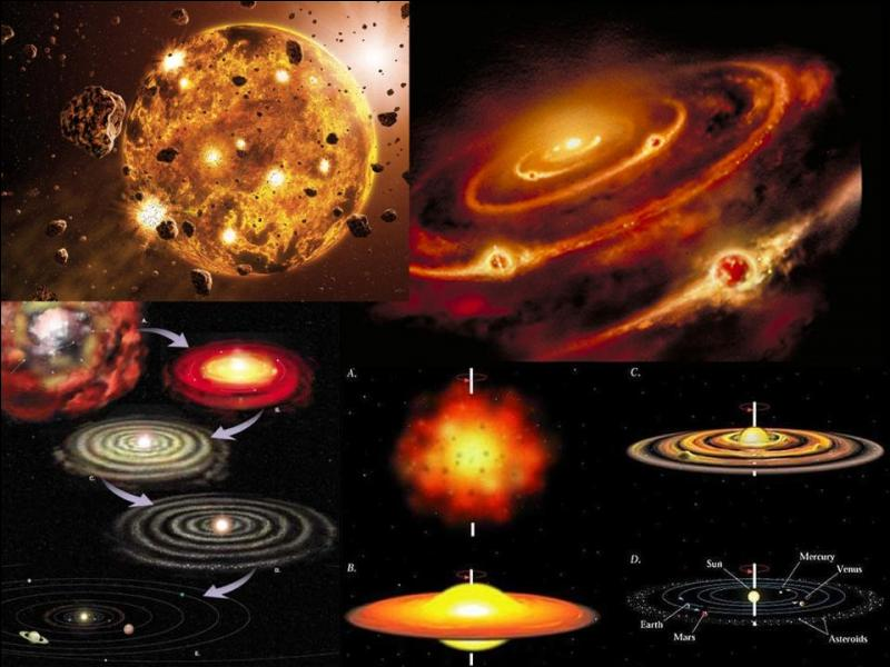 Passons à la suite. Il y a 4, 54 milliards d'années, un événement important arrive, il nous concerne tous.Qu'est-il arrivé ?