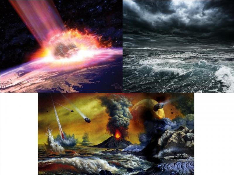 Il y a environ 4, 5 milliards d'années, un événement majeur a concerné notre planète. Ces événements nous permettront d'exister.Que s'est-il passé ?