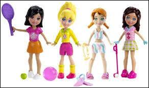 Comment s'appelle cette gamme de mini poupées destinées aux petites filles ?