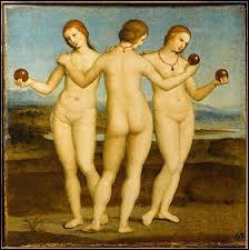 """""""Les Trois Grâces"""" est un tableau de ..."""