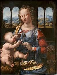"""Qui a peint le tableau intitulé """"La Madone à l'œillet"""" ?"""