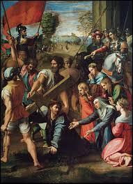 """Qui a peint le tableau """"Le portement de croix"""" ?"""