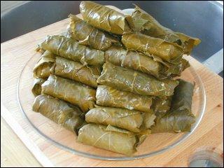 """Voici encore des légumes farcis d'un mélange de viande et de riz ! On les appelle """"dolmas"""" :"""