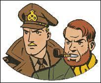 Quels sont les prénoms des héros Black et Mortimer ?