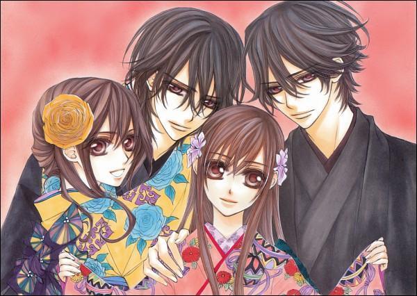 Le jeu des 7 familles, version 'mangas'