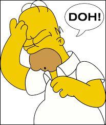 """Quel personnage d'une série télévisée d'animation utilise souvent l'expression """"D'oh ! """" ?"""