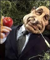 """Dans les """"Guignols"""", quel président dit """"Manger des pommes"""" ?"""