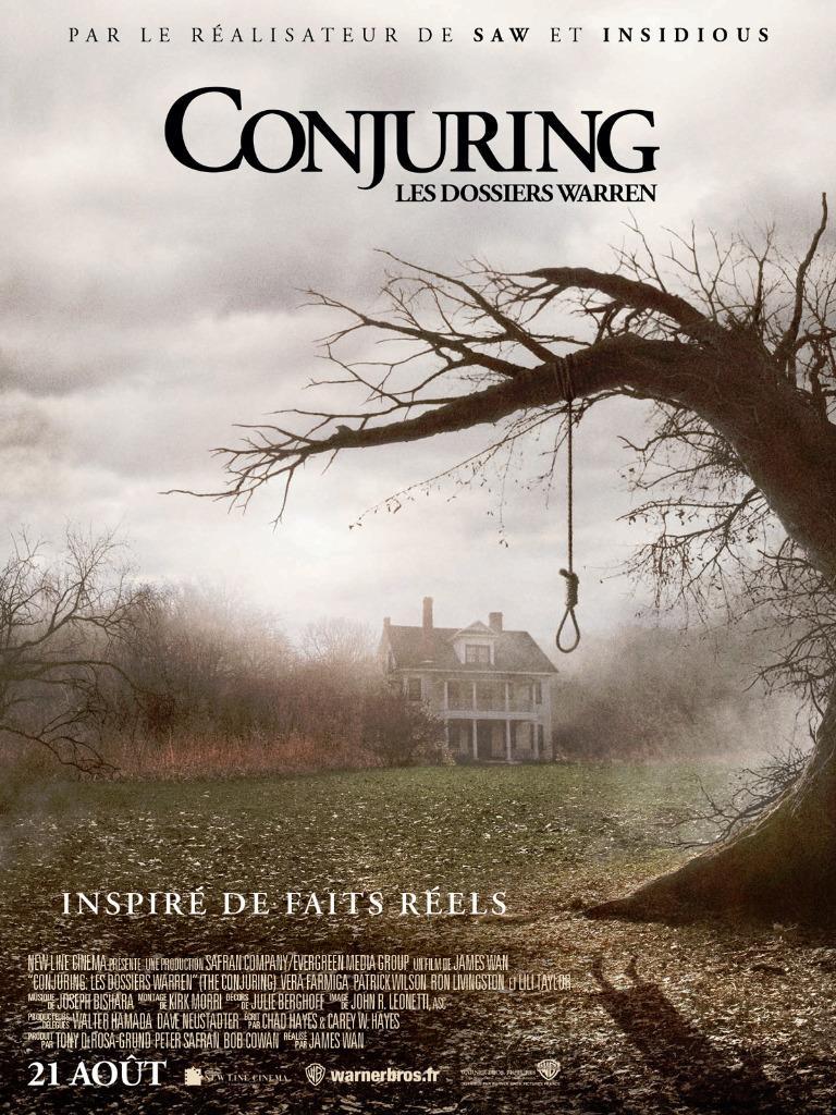Êtes-vous incollable sur Conjuring ?