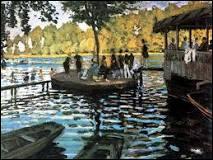 Qui a peint « Bain à la Grenouillère » ? (1869)