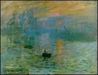 Qui a peint « Impression, soleil levant » ? (1872)