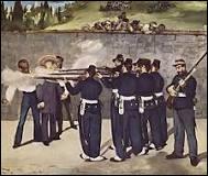 Qui a peint « L'Exécution de Maximilien » ? (1868)