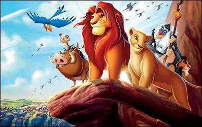Quel nom ne désigne-t-il pas un lion dans le film « Le Roi Lion » de Wald Disney ?