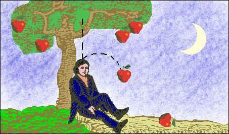 Qui a découvert la gravitation en regardant, dit-on, tomber une pomme ?