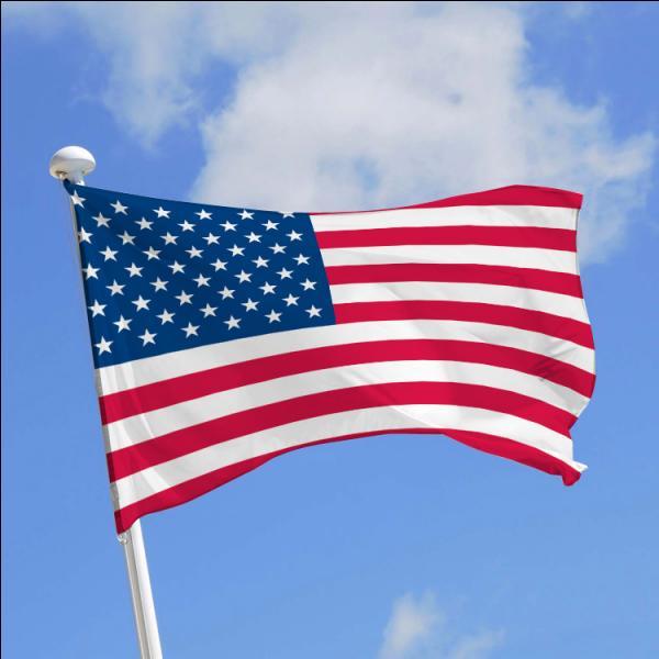 En quelle année le drapeau des Etats-Unis a-t-il été créé ?