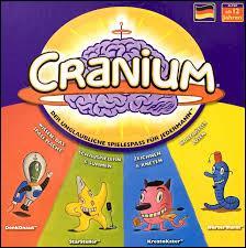 """Quel jeu n'est pas dans le """"Cranium"""" ?"""