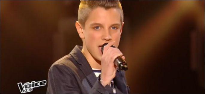 Pour la finale quelle chanson Léo a-t-il chantée ?