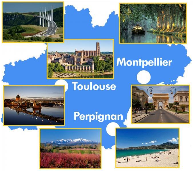 La région Languedoc-Roussillon-Midi-Pyrénées sera la région englobant le plus de départements. Ses 72000 km² se répartissent sur...