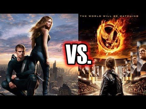 Hunger Games vs Divergente
