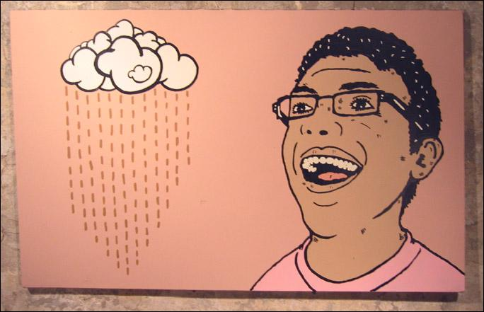 (Enfin un 'mème' ayant un sens) Dans la chanson 'Chocolate rain' (pluie de chocolat) quel est le thème abordé ?