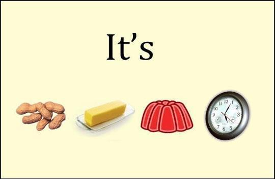 Si je vous dis 'It's peanut butter jelly time' vous me répondez :