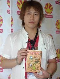"""Comment s'appelle l'auteur (mangaka) de """"Fairy Tail"""" ?"""