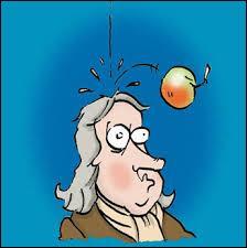 Quel fruit reçu sur sa tête permettra à Isaac Newton de découvrir la gravitation universelle ?