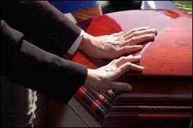 On ne dit plus ''des obsèques'' mais...