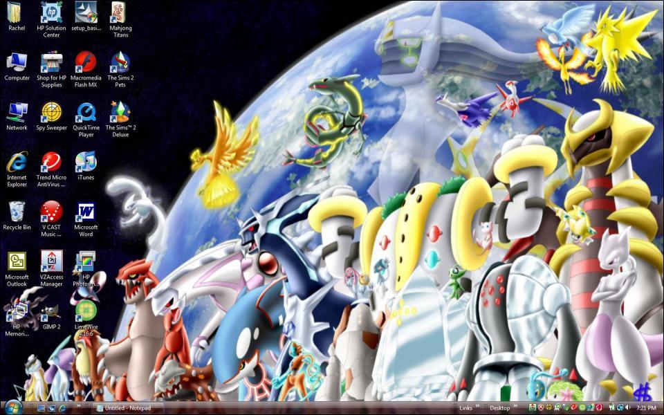 Est-ce que tous les Pokémon légendaires sont sur cette image ?