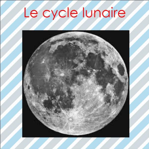 quizz pourquoi la lune change t elle de forme quiz lune. Black Bedroom Furniture Sets. Home Design Ideas