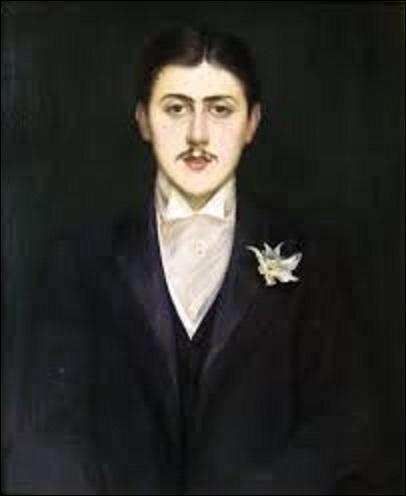 Nous commençons aujourd'hui par une huile sur toile (H : 0, 73 m x L : 0, 60 m) représentant le portrait du jeune écrivain Marcel Proust (1871-1922) âgé de 21 ans et qui n'est alors que chroniqueur mondain. Mais quel peintre portraitiste, graveur et écrivain (1861-1942) a réalisé ce tableau, en 1892 ?