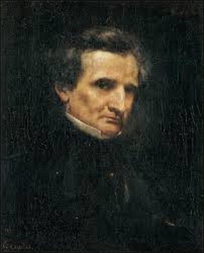 Pour quel peintre réaliste (1819-1877) aussi sculpteur, le compositeur Hector Berlioz (1803-1869) pose-t-il, en 1850 ?