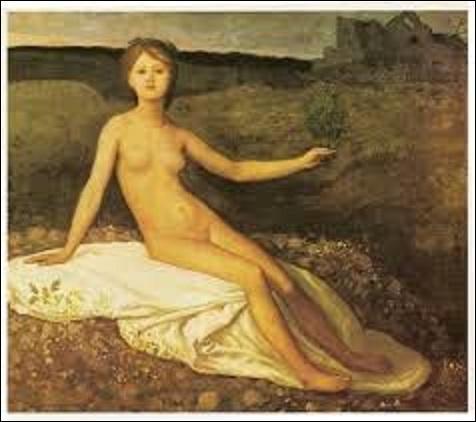 """Quel peintre symboliste (1824-1898) très marqué par la guerre franco-prussienne de 1870, réalise plusieurs œuvres relatives à cet événement dont cette huile sur toile, entre 1871 et 1872, nommée """"L'Espérance"""" ?"""