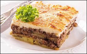 Quelle viande utilise-t-on dans la recette de la Moussaka ?