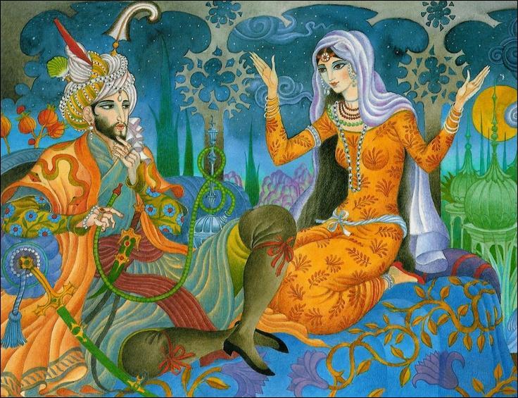 """Cette créature imaginaire, originaire de la mythologie perse, apparaît dans les """"Contes des Mille et Une Nuits"""". Très proche du vampire ou du zombie dans la culture occidentale, généralement nécrophage, c'est..."""