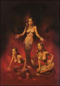 """Dans la mythologie grecque, """"Méduse"""", contrairement à ses sœurs, était mortelle. Elle était..."""